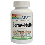 Solaray Barne-Multi Vitamin tyggetabletter